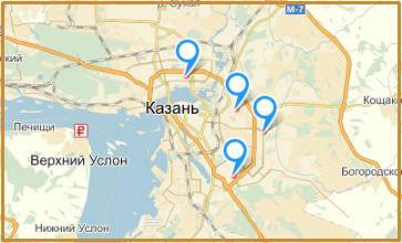 Адреса автошколы в Казани